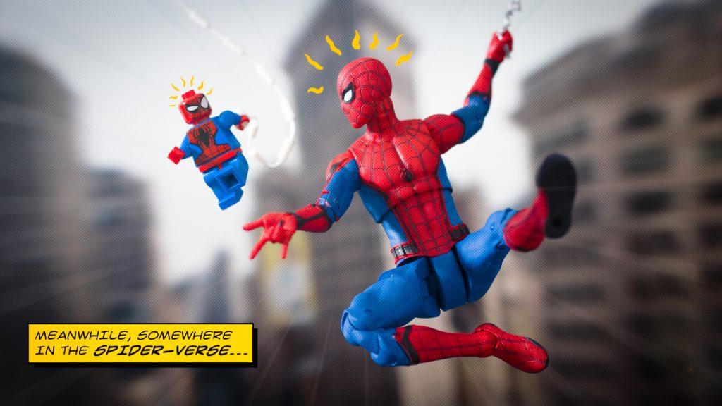 LEGO Action Figure Marvel Spider-Man by James Garcia thereeljames23