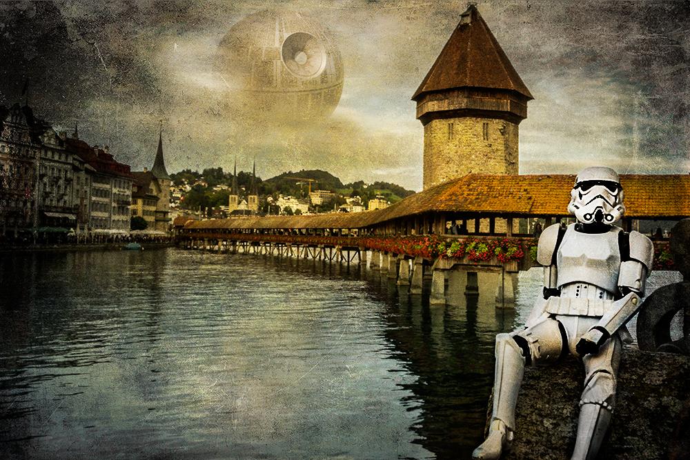 stormtrooper at chapel bridge