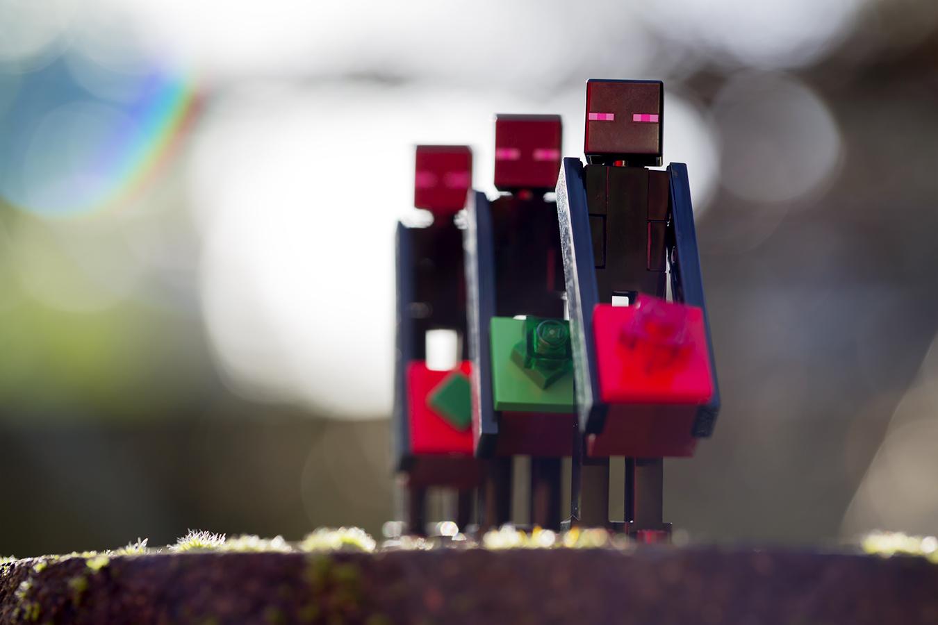 A LEGO Minecraft Christmas