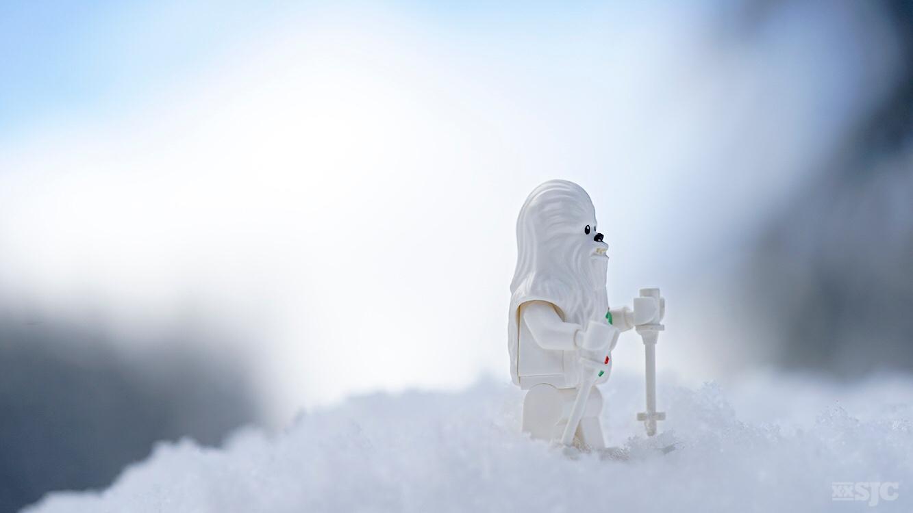 The Case of the White Mini Figure