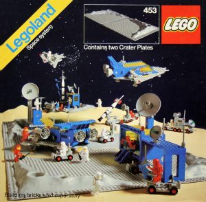 Classic LEGO space set