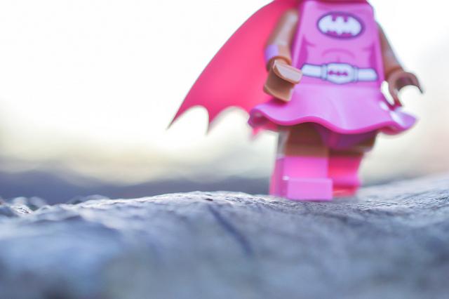Batgirl close up
