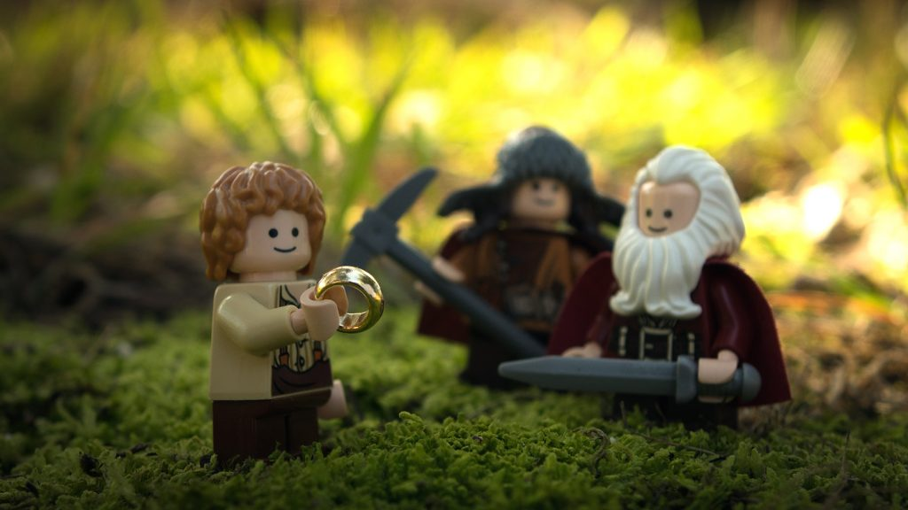 At home: The Hobbit: A Standard Journey