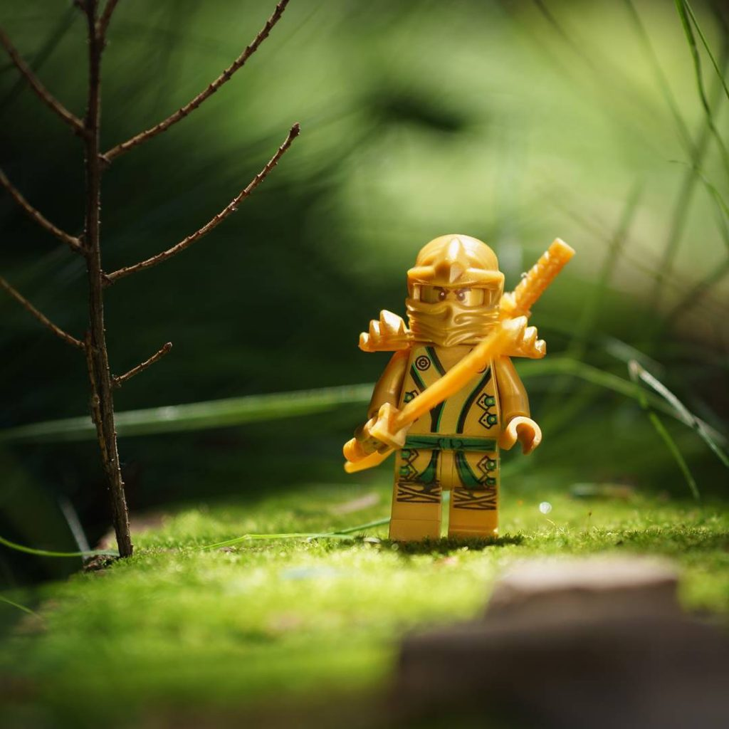 "The Ninjago Movie Minifigures Winner: ""Green and Gold"" by @fourbrickstall"