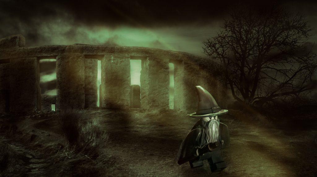 Gandalf At Stonehenge