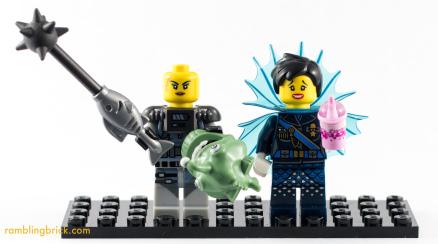 Minifigure Gender distribution: 2017 update