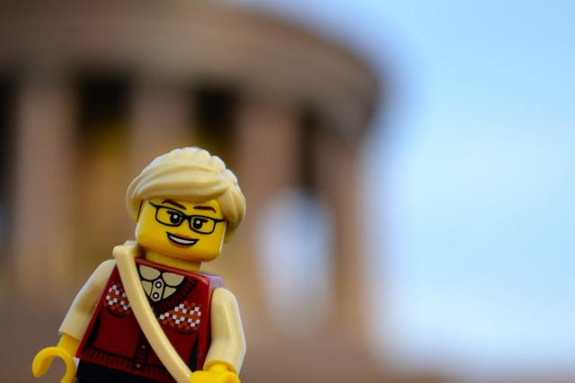 LEGO figure in Berlin