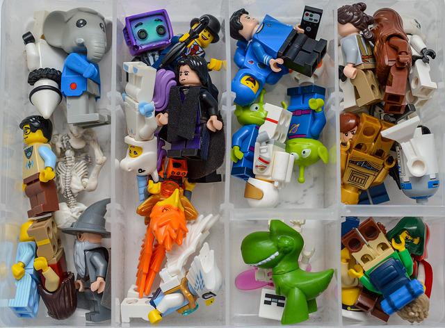 LEGO in a box
