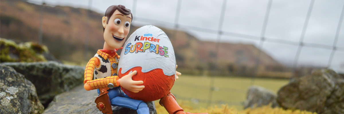 The toys of Kinder Surprise