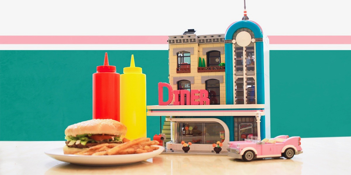 LEGO Downtown Diner Review & Giveaway