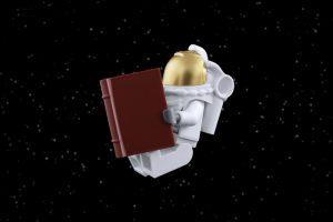 LEGO spaceman by James Garcia