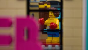 LEGO Downtown Diner gym by James Garcia