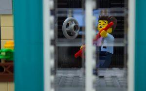 LEGO Downtown Diner Guitar player Elvis by James Garcia