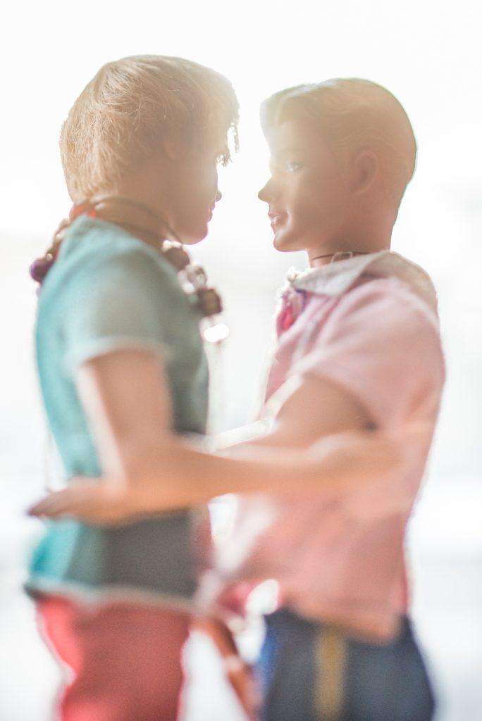 2 Ken dolls together by Kristina Alexanderson
