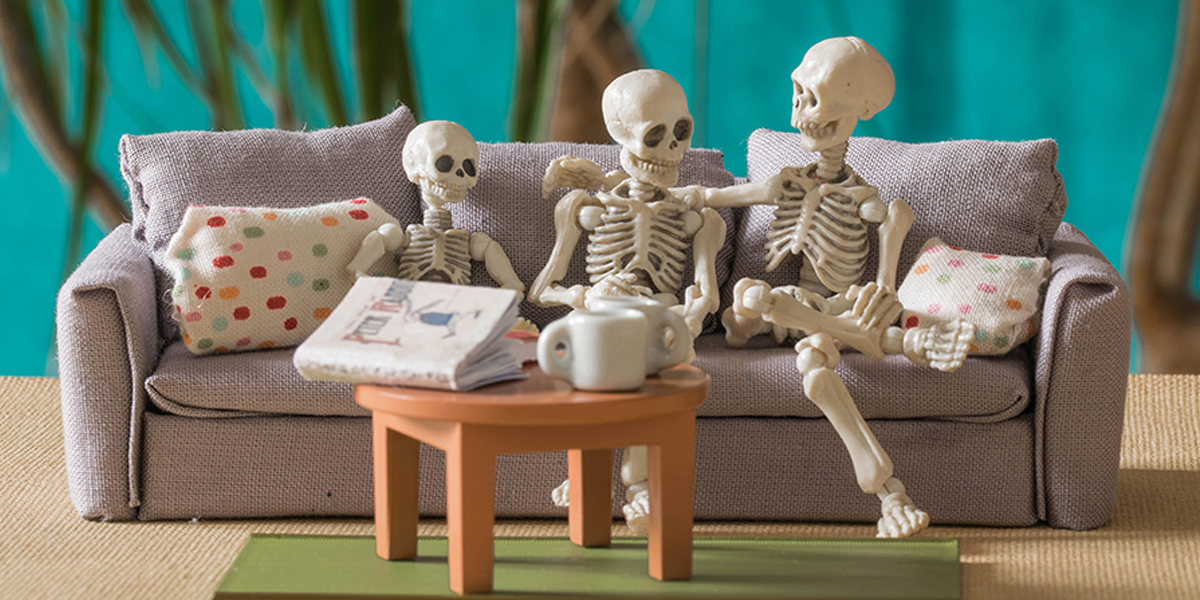 Pose Skeleton family by Karine Linder Eat My Bones