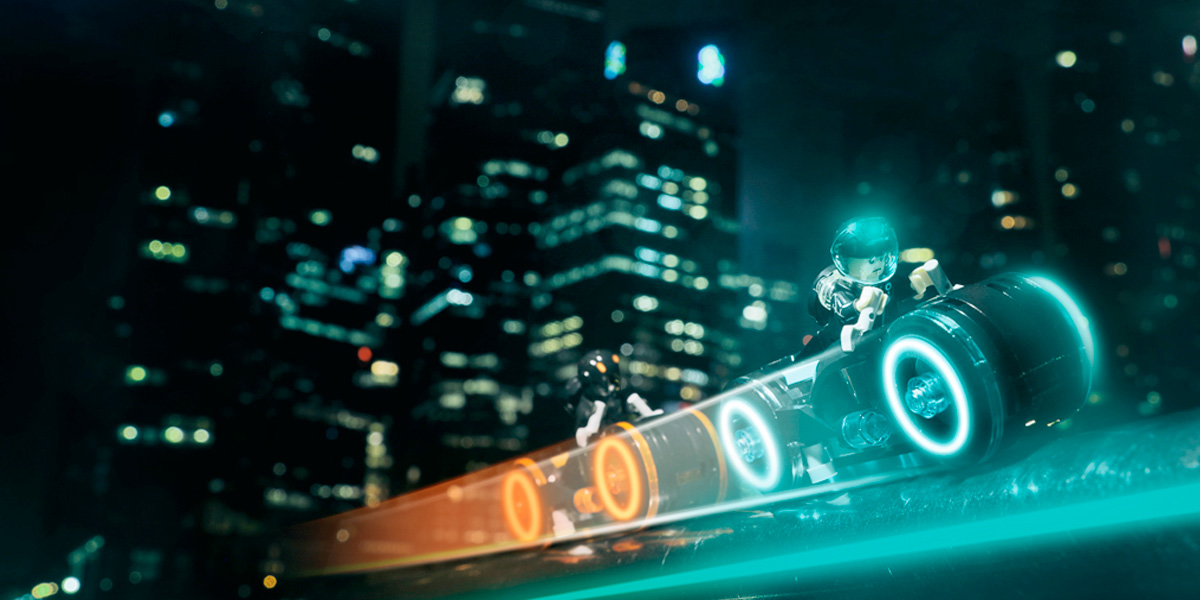 Tron Legacy: a set and project review