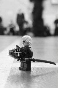 LEGO figure in Kendo armour