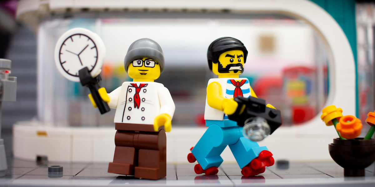 LEGO Downtown Diner Giveaway Extension!
