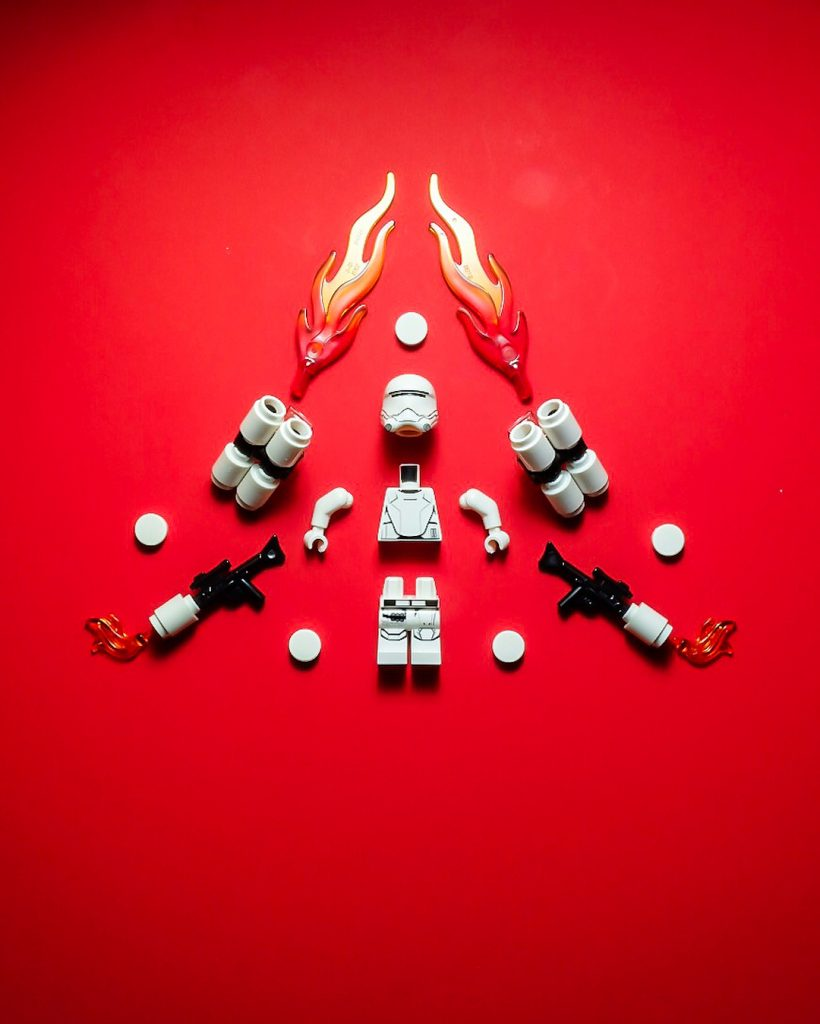 LEGO Star wars Flametrooper by Blake Powell BlvdBricks