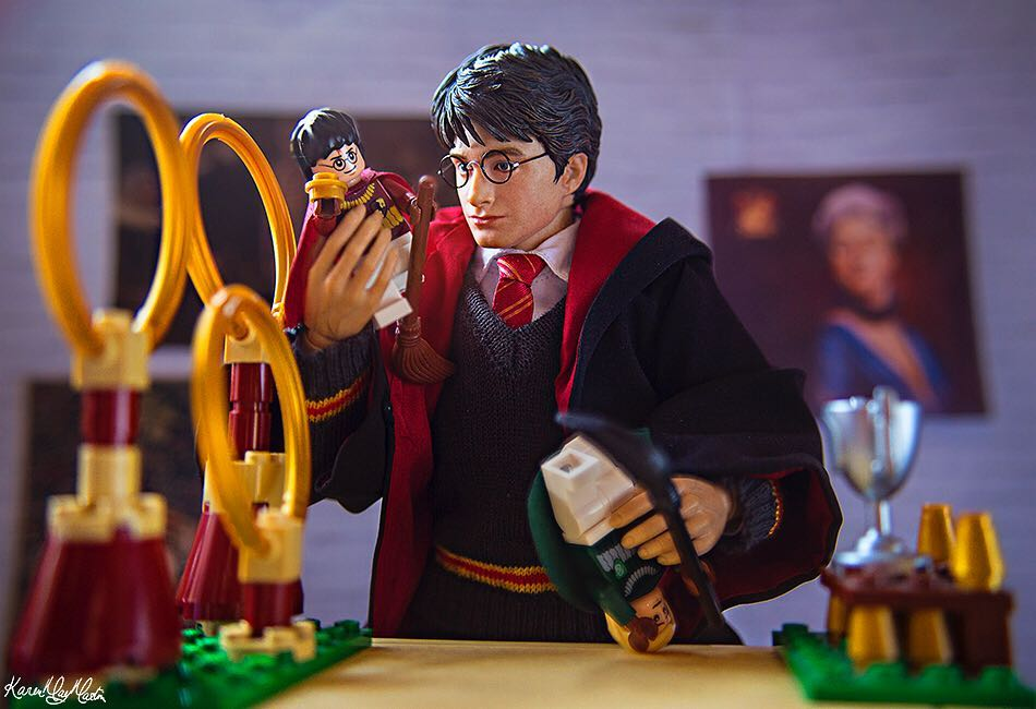 "Lego Harry Potter ""Really, everyone's a fan"" by @karenmaymartin"