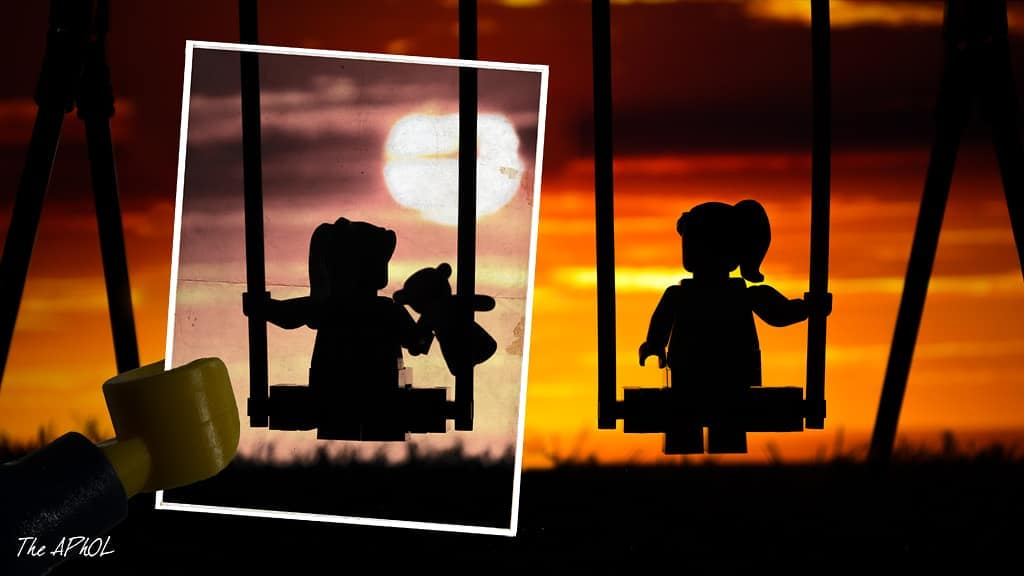 LEGO swingset do you remember by The_Aphol