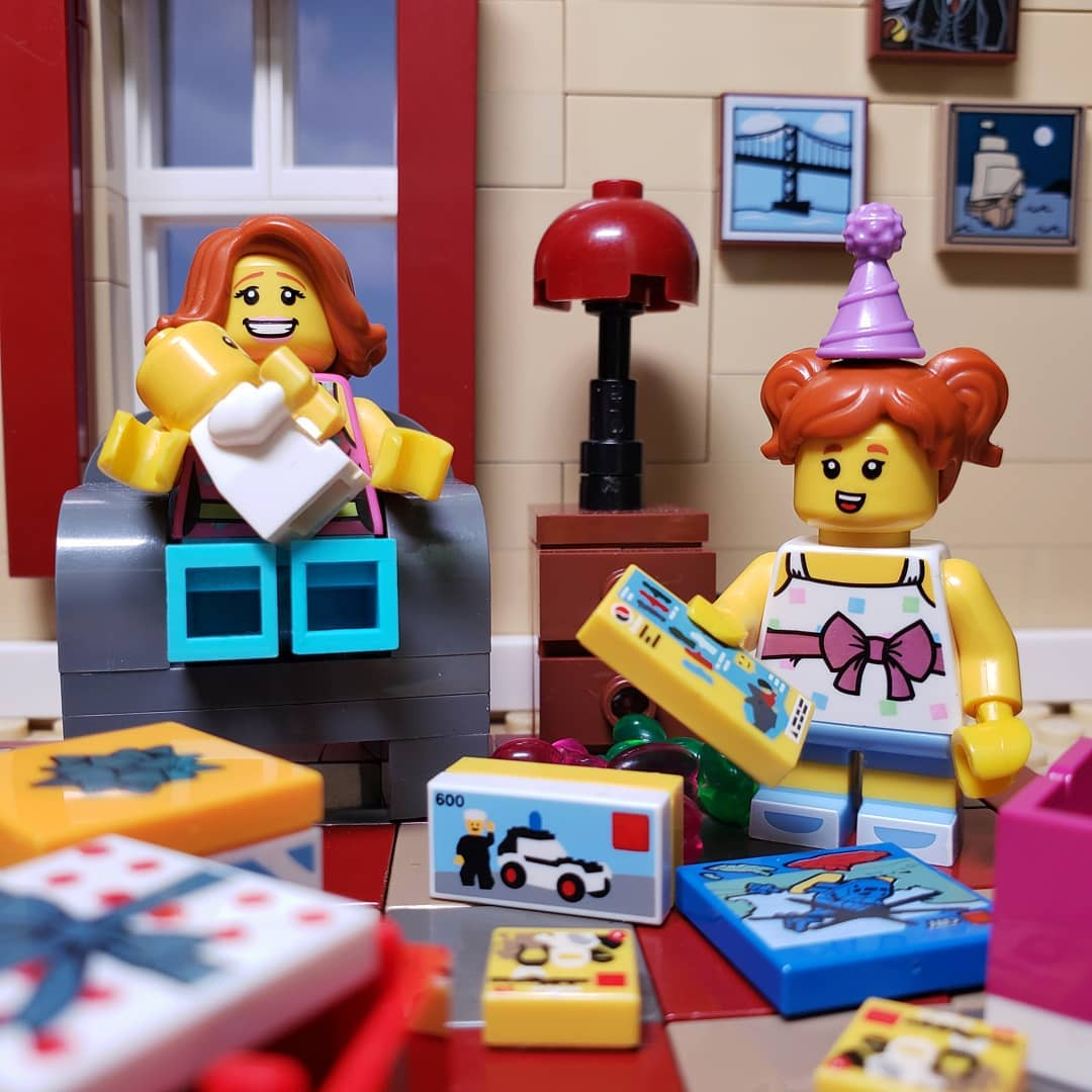 "LEGO minifigures ""Remembering the best birthday EVER!"" by @mrs.playwell"