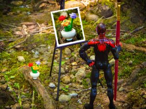Marvel Legends Miles Morales Spider-Man still life by Demarcation Media