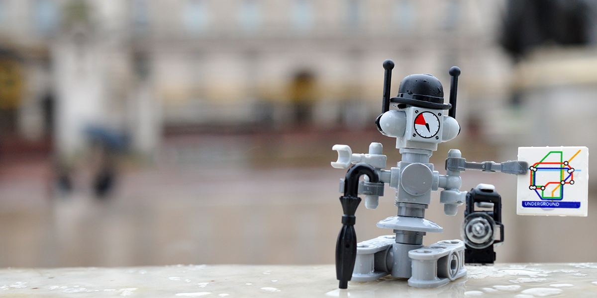 LEGO London robot