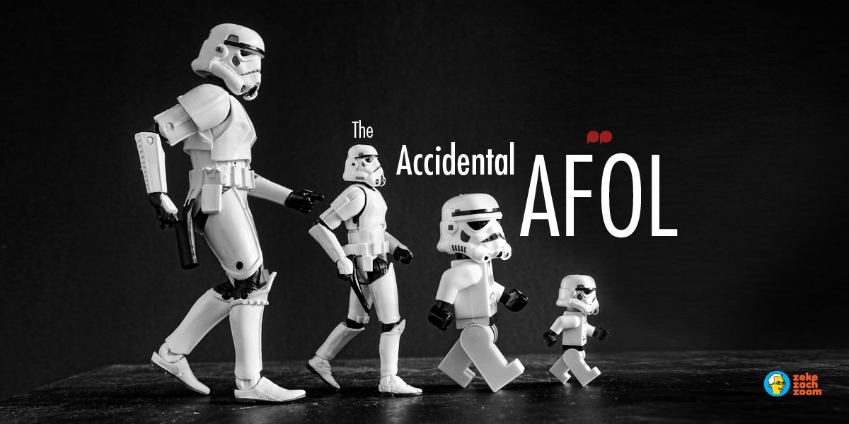 The accidental AFOL