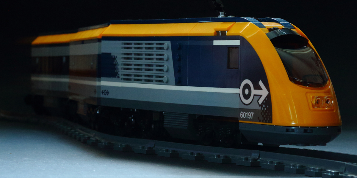 Passenger Train 60197