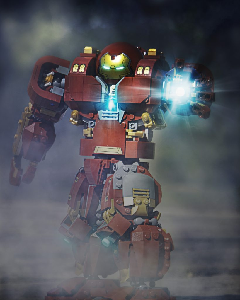 Hulkbuster in smoke