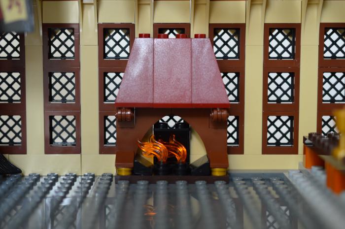 Empty LEGO great hall