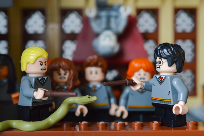 LEGO Harry and Draco at Duelling club!