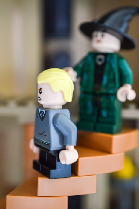 LEGO Draco in trouble