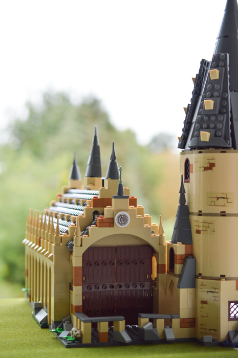Hogwarts Great Hall, a tricky building to photograph whole!