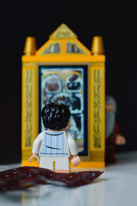 LEGO Harry Potter with the Mirror of Erisid