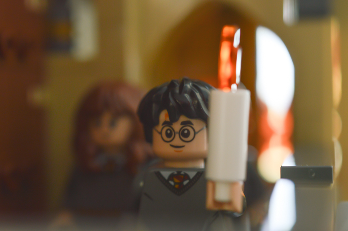 LEGO Harry with candle
