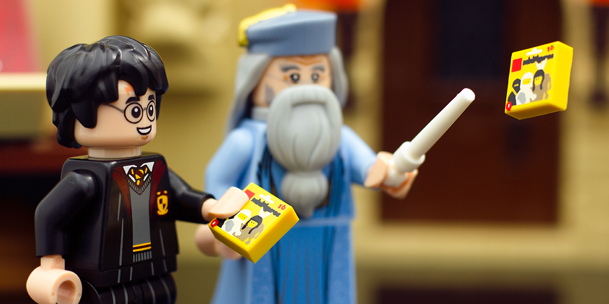 Podcast 27 – LEGO Harry Potter Collectible Minifigures Review