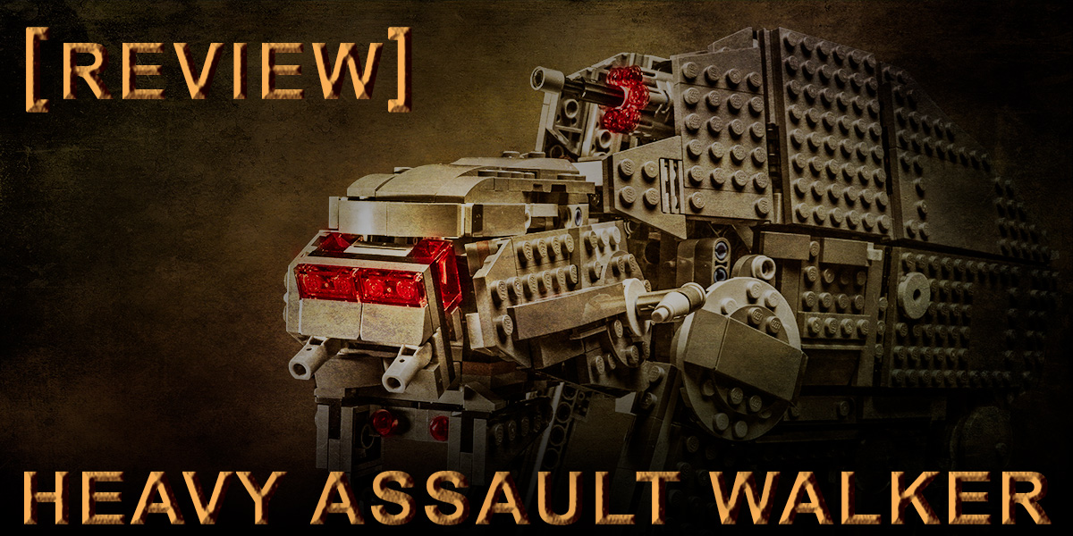 Review: LEGO First Order Heavy Assault Walker