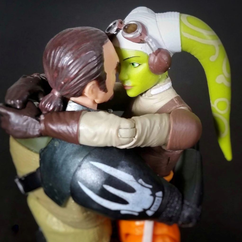 Kanan and Hera in love by @teddi_toyworld