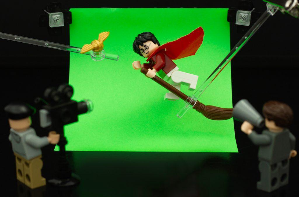 LEGO Harry Potter movie set by James Garcia