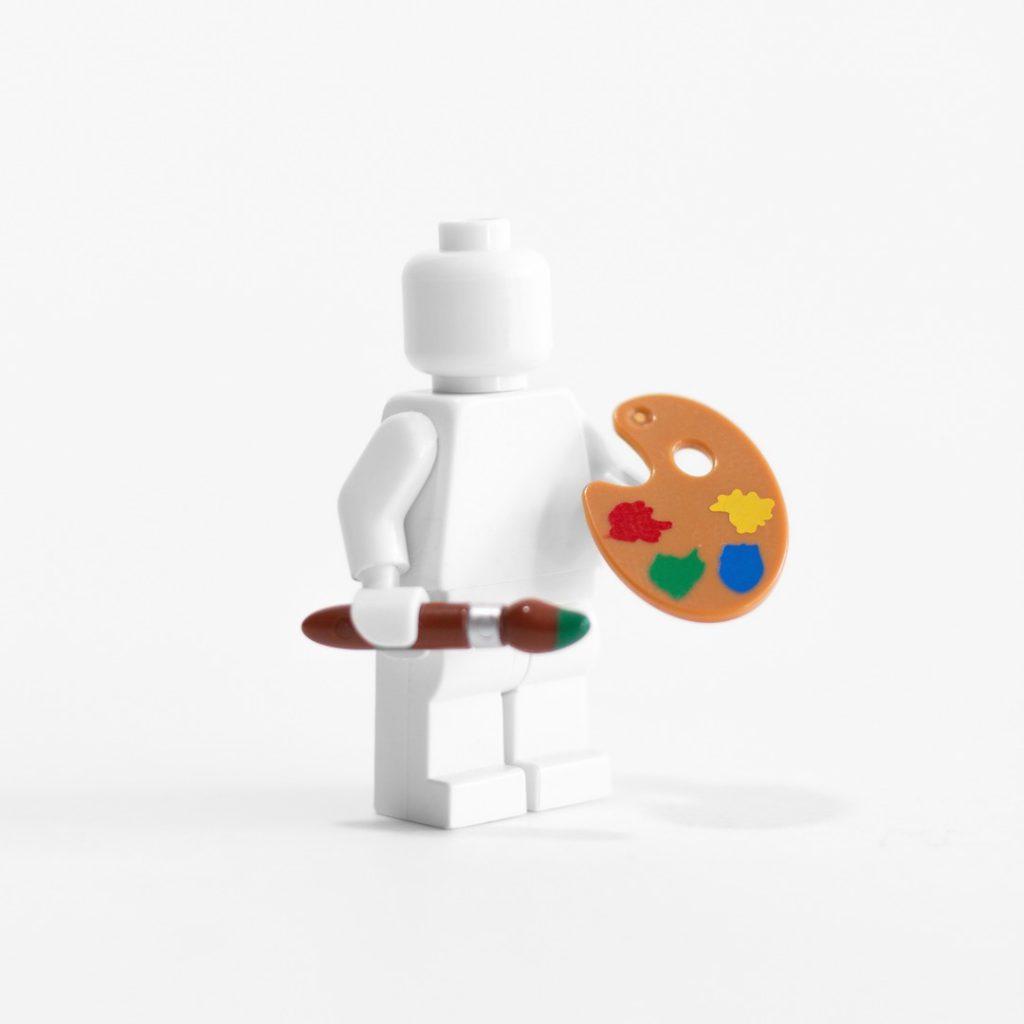 LEGO artist minifigure toy photography James Garcia