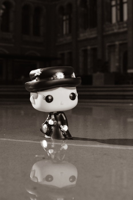 Mary Poppins Pop Figure at the Victoria and Albert