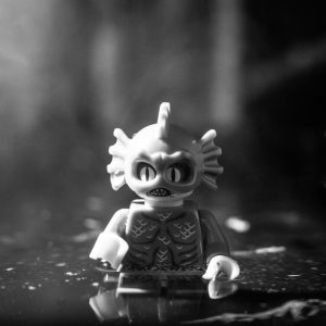 LEGO Creature from the Black Lagoon by James Garcia