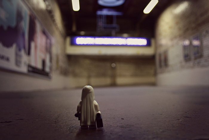 Commuting LEGO ghost