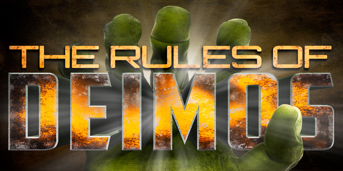The rules of DEIMOS