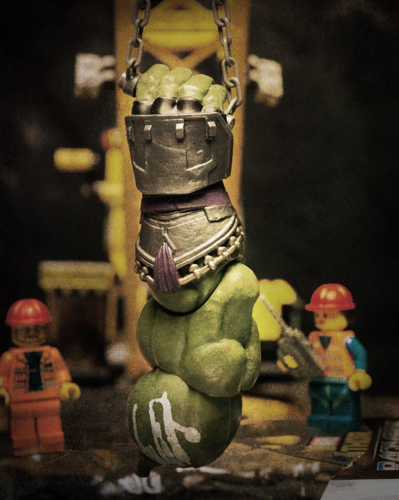 Hulks arm.