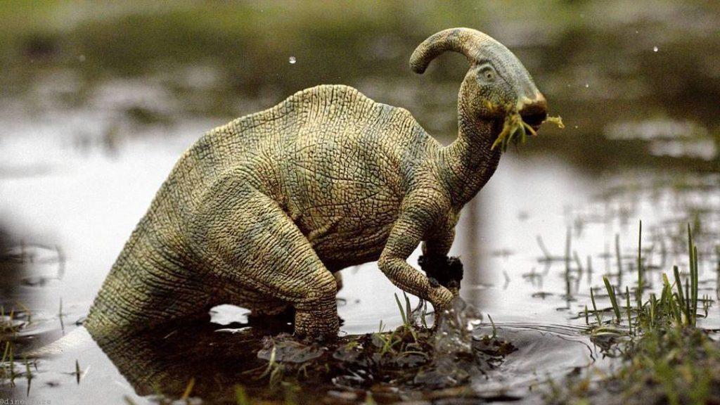 Parasaurolophus by Jon Aiken dinoczars