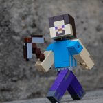 LEGO Minecraft BigFig Steve washed out face