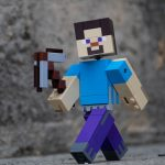 LEGO Minecraft BigFig Steve better angle